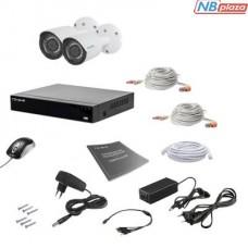 Комплект видеонаблюдения Tecsar 2OUT 2MEGA (000008785)