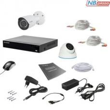 Комплект видеонаблюдения Tecsar 2MIX 2MEGA (000008786)