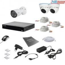 Комплект видеонаблюдения Tecsar 3MIX 2MEGA (000008792)