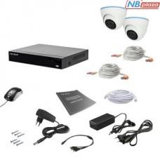 Комплект видеонаблюдения Tecsar 2IN 2MEGA (000008799)