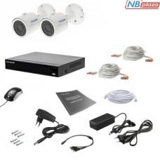 Комплект видеонаблюдения Tecsar 2OUT 5MEGA (000008803)