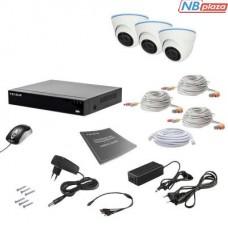 Комплект видеонаблюдения Tecsar 3IN 2MEGA (000009922)