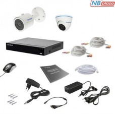 Комплект видеонаблюдения Tecsar 2MIX 5MEGA (000009932)