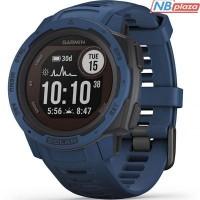 Смарт-часы Garmin Instinct Solar, Tidal Blue (010-02293-01)