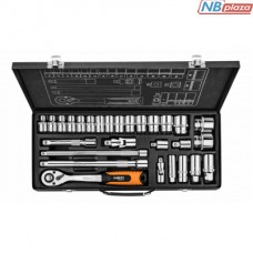 """Набор инструментов Neo Tools сменных головок 1/2 """", 3/8"""" 28 шт. (08-677)"""