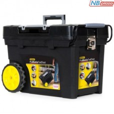 Ящик для инструментов Stanley большого объема с колесами (613х419х375мм) (1-92-904)