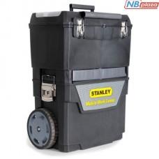Ящик для инструментов Stanley Mobile Work Center 2 in 1 с колесами (47x30x63) (1-93-968)