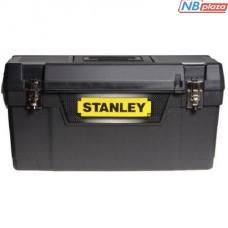 Ящик для инструментов Stanley с металлическими замками (400x209x183мм) (1-94-857)