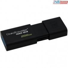 Kingston 256GB DataTraveler 100 G3 USB 3.0 Black (DT100G3/256GB)