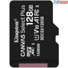 Kingston 128GB microSDXC UHS-I U1 V10 A1 Canvas Select Plus (SDCS2/128GBSP)