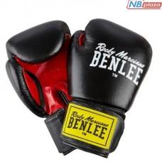 Боксерские перчатки Benlee Fighter 14oz Black/Red (194006 (blk/red) 14oz)