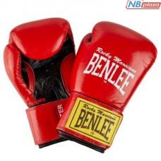 Боксерские перчатки Benlee Fighter 14oz Red/Black (194006 (red/blk) 14oz)