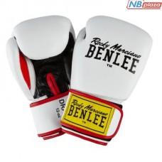 Боксерские перчатки Benlee Draco 14oz White/Black/Red (199116 (wht/blk/red) 14oz)