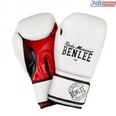 Боксерские перчатки Benlee Carlos 12oz White/Black/Red (199155 (white/black/red) 12oz)