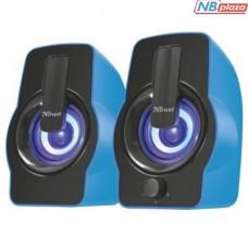 Акустическая система Trust Gemi RGB blue USB (22978)