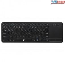 Клавиатура 2E KT100 Touch Wireless Black (2E-KT100WB)