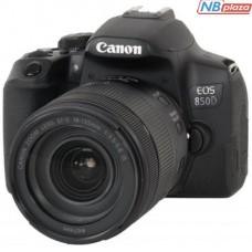 Цифровой фотоаппарат Canon EOS 850D kit 18-135 IS nano USM Black (3925C021)