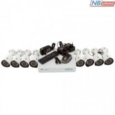 Комплект видеонаблюдения GreenVision GV-K-S14/08 1080P (5526)