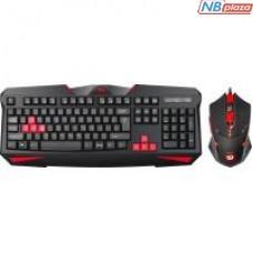 Комплект Redragon S101-2 USB Black (75048)