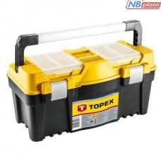 """Ящик для инструментов Topex 25 """", с алюминиевой ручкой (79R129)"""