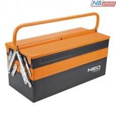 Ящик для инструментов Neo Tools металический, 455 мм (84-100)
