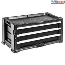 Ящик для инструментов NEO шкаф инструментальный 3 ящика (84-227)