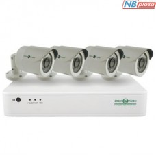 Комплект видеонаблюдения GreenVision GV-IP-K-S31/04 1080P (9420)