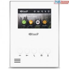 Видеодомофон BAS-IP AU-04LA White (AU-04LA_W)