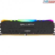 Модуль памяти для компьютера DDR4 32GB 3600 MHz Ballistix Black RGB Micron (BL32G36C16U4BL)