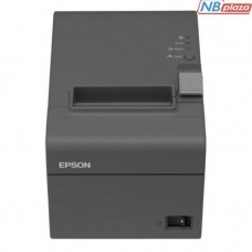 Принтер чеков EPSON TM-T20II RS-232/USB I/F (Dark Grey)+PS (C31CD52002)