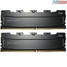 Модуль памяти для компьютера DDR3L 16GB (2x8GB) 1600 MHz Black Kudos eXceleram (EKBLACK3161611LAD)