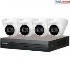 Комплект видеонаблюдения Dahua EZIP-KIT /4xDome