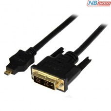HDDDVIMM1M Кабель Startech 1m Micro HDMI to DVI-D Cable - M/M