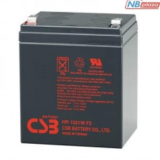 Батарея к ИБП 12В 5 Ач CSB (HR1221W F2)