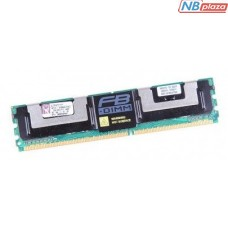 KTH-XW667/4G Оперативная память Kingston 4GB Kit (2x 2GB) DDR2-667MHz ECC Fully Buffered CL5 for HP/Compaq