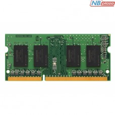 KVR16S11S8/4 Оперативная память Kingston 4GB DDR3-1600MHz CL11 SO-DIMM