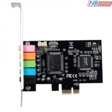 Звуковая карта Manli C-Media 8738 PCI-E 6(5.1) каналов bulk (M-CMI8738-PCI-E)