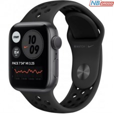 Смарт-часы Apple Watch Nike Series 6 GPS 40mm Space Gray Aluminum Case with A (M00X3UL/A)