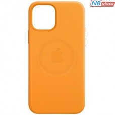 Чехол для моб. телефона Apple iPhone 12 mini Leather Case with MagSafe - California Poppy (MHK63ZM/A)