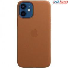 Чехол для моб. телефона Apple iPhone 12 mini Leather Case with MagSafe - Saddle Brown (MHK93ZE/A)