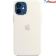 Чехол для моб. телефона Apple iPhone 12 mini Silicone Case with MagSafe - White (MHKV3ZE/A)