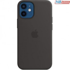 Чехол для моб. телефона Apple iPhone 12 mini Silicone Case with MagSafe - Black (MHKX3ZE/A)