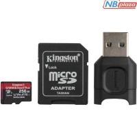 Карта памяти Kingston 256GB microSDXC class 10 Canvas React+ (MLPMR2/256GB)
