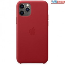 Чехол для моб. телефона Apple iPhone 11 Pro Leather Case - (PRODUCT)RED (MWYF2ZM/A)