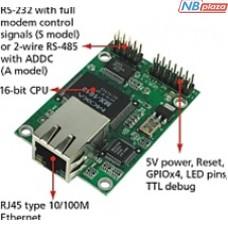 Встраиваемый преобразователь MOXA NE-4110A