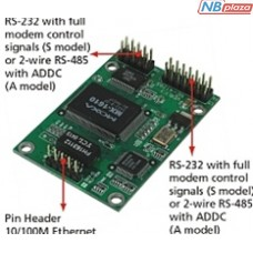 Встраиваемый преобразователь MOXA NE-4120S