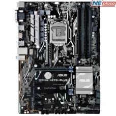 Материнcкая плата ASUS PRIME_H270-PLUS/CSM/C/SI s1151, H270 4DDR4 HDMI-DVI-VGA M.2 Socket3, 8xGPU Mining CSM BULK