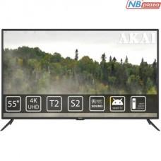 Телевизор AKAI UA55LEP1UHD9+Bluetooth Voice Remote Control