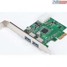 Контроллер PCIe to USB GEMBIRD (UPC-30-2P)