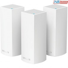 WHW0303 Wi-Fi точка доступа Linksys Velop AC-6600 Tri-Band Wi-Fi System (3 шт)